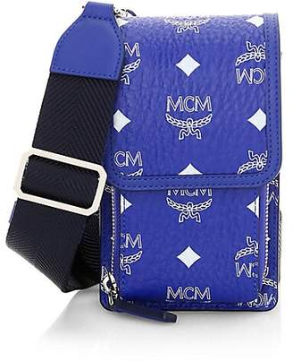 MCM Men's Visetos Original Smartphone Case
