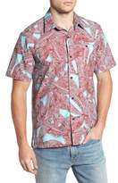 Hurley Print Woven Shirt