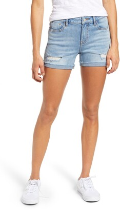 Vigoss Marley Distressed Denim Shorts