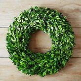 west elm Boxwood Round Wreath