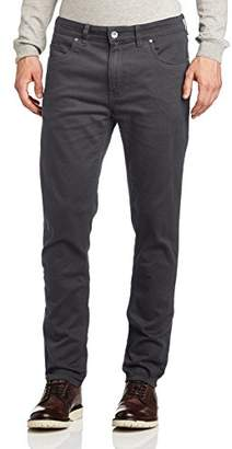Farah Men's Drake Twill Skinny Jeans, Grey