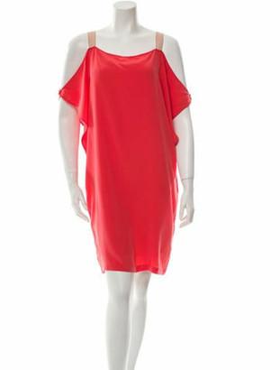 Thakoon Silk Shift Dress w/ Tags Coral