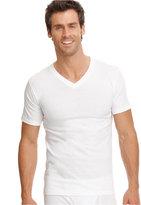 Jockey Men's Big & Tall Classic Tagless V-Neck T-Shirt 2-Pack