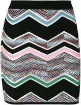 Missoni zig zag mini skirt - women - Nylon/Rayon/Wool - 38
