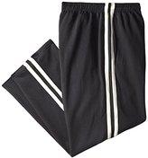 Champion Men's Big & Tall Open Bottom Double Stripe Fleece Sweatpant