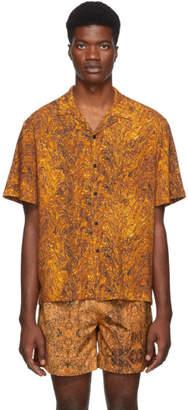Everest Isles Orange Oil Spill Beach Shirt