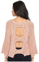 Brigitte Bailey Leah Open Back Sweater