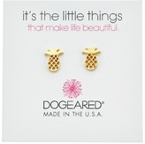Dogeared It's The Little Things: Open Pineapple Earrings Earring