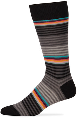 Paul Smith Men's Multicolor Stripe Socks