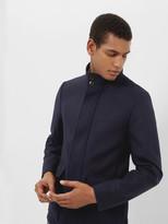 Twill Button Through Coat