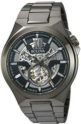 Bulova Men's Automatic-self-Wind Watch with Stainless-Steel Strap