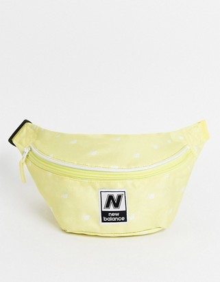 New Balance printed classic waistbag in yellow