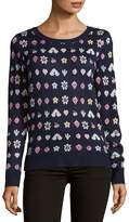 Saks Fifth Avenue RED Women's Patterned Knitted Sweater