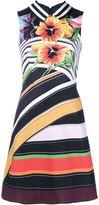Mary Katrantzou 'Alpina' floral dress - women - Silk/Cotton - 14