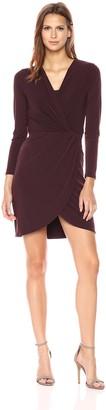 Velvet by Graham & Spencer Women's Stretch Jersey Surplice Dress