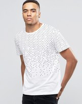 Bellfield T-Shirt with Geo Print
