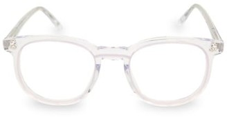 Linda Farrow 47MM Round Novelty Optical Glasses