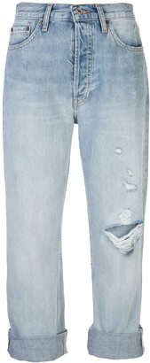 RE/DONE Turn Up Jeans