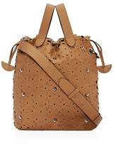 Meli-Melo Hazel Daisy Leather Satchel