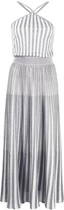 Missoni Striped Halterneck Maxi Dress