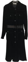 Prada Black Viscose Trench coat