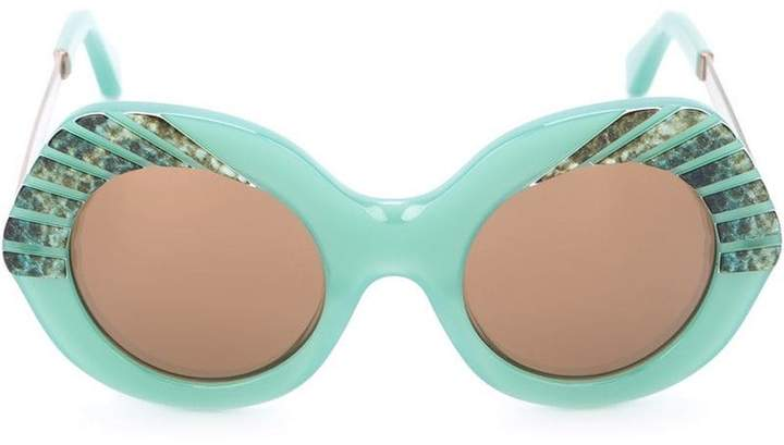 Cutler & Gross oversized sunglasses