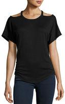 Rag & Bone Cutout Short-Sleeve T-Shirt