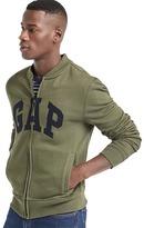 Gap Herringbone logo zip sweatshirt