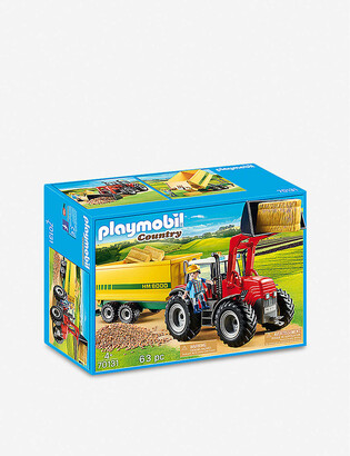 Playmobil Country 70131 tractor with feed trailer
