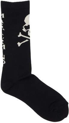 Mastermind World Intarsia Logo Cotton & Nylon Socks