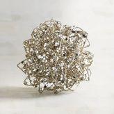 Pier 1 Imports Mini Champagne Wire Decorative Sphere