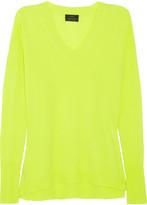 Cashmere boyfriend-fit sweater