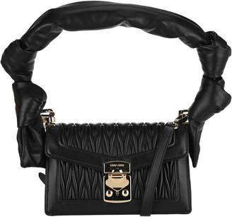 Miu Miu Confidential Matelasse Shoulder Bag