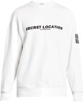 Alexander Wang Mixtape-print cotton sweatshirt