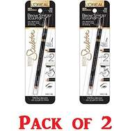 L'Oreal Brow Stylist Sculptor 3 in 1 EyeBrow Tool - Blonde (Pack of 2)