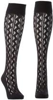 Charlotte Russe Pointelle Knee-High Socks