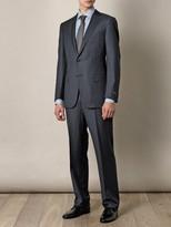 Ermenegildo Zegna Milano 2 subtle-stripe suit