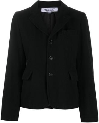 Comme des Garçons Comme des Garçons Fitted Long-Sleeved Jacket