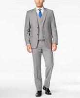 Lauren Ralph Lauren Men's Slim-Fit Ultraflex Light Grey Pinstripe Vested Suit