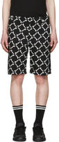 Kokon To Zai Black Baggy Latin Shorts