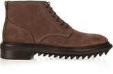 Lanvin Lace-up nubuck ankle boots
