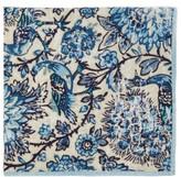 D'Ascoli Set Of Four Coromandel Floral-print Napkin Set - Blue Multi