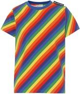 Balenciaga Striped stretch cotton T-shirt