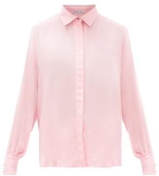 Pallas X Claire Thomson-jonville - Gigi Voile Shirt - Womens - Pink