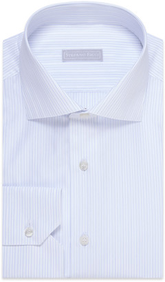 Stefano Ricci Men's Striped Cotton Dress Shirt
