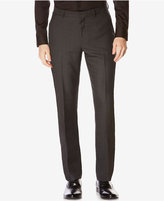 Perry Ellis Men's Slim-Fit Tonal Plaid Non-Iron Dress Pants