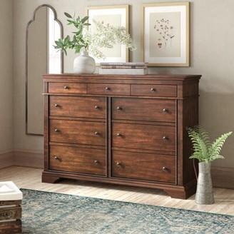 Birch Lane Birch LaneTM Heritage Schaffer 9 Drawer Double Dresser Heritage