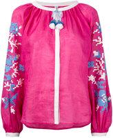 March 11 - Adele blouse - women - Linen/Flax/Acrylic - S