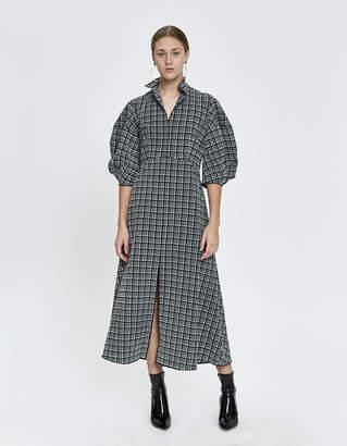 Rachel Comey Amplus Stretchy Check Dress