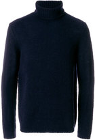 Folk Interference roll neck jumper
